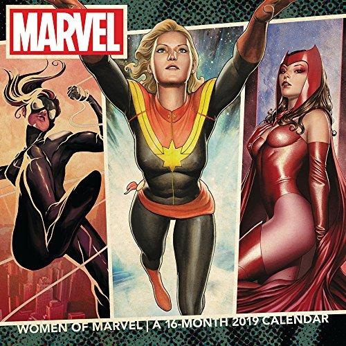 Women of Marvel Wall Calendar (2019)