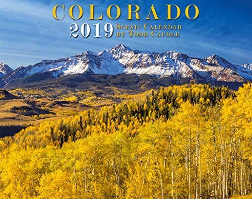 Colorado 2019 Deluxe Wall Calendar
