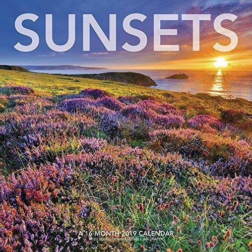 Sunsets Wall Calendar (2019)