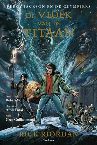 De Vloek van de Titaan: De graphic novel – Rick Riordan