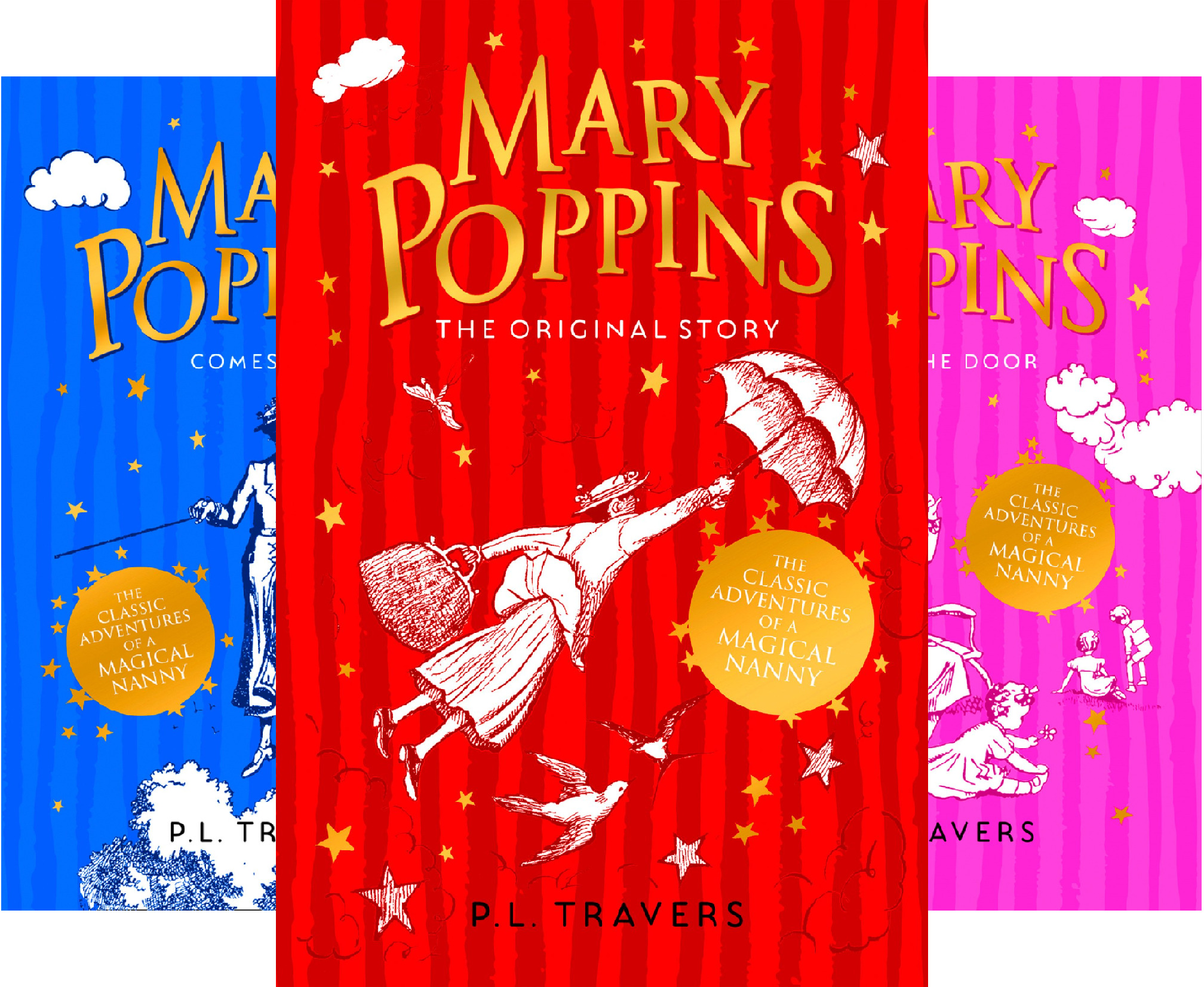 Mary Poppins Series (4 Book Series)