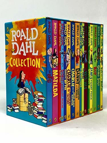 Roald Dahl 16 Book Collection Box Set