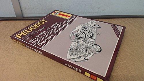 Peugeot 504 Diesel 1974-82 Owner's Workshop Manual