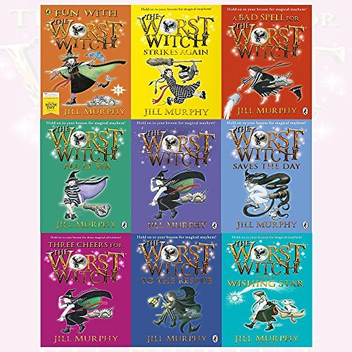 Jill Murphy Worst Witch Series Collection 9 Books Bundles