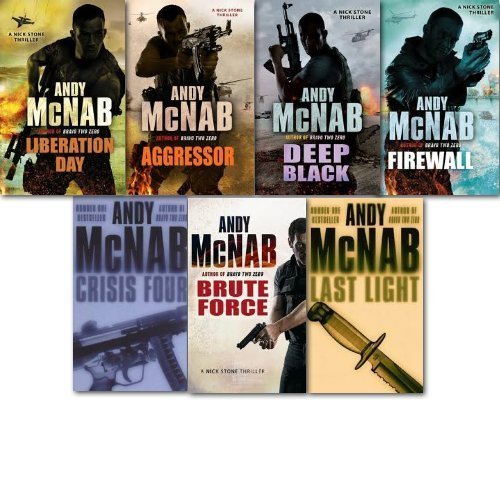 Nick Stone Thriller Collection Andy McNab 7 Books Set
