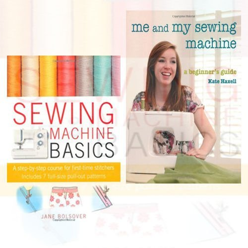 Sewing Machine 2 Books Bundle Collection