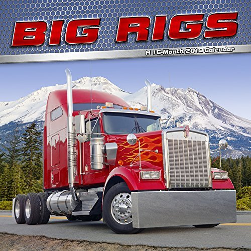 2019 Big Rigs Wall Calendar