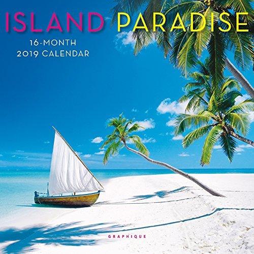 Island Paradise 2019 Mini Wall Calendar
