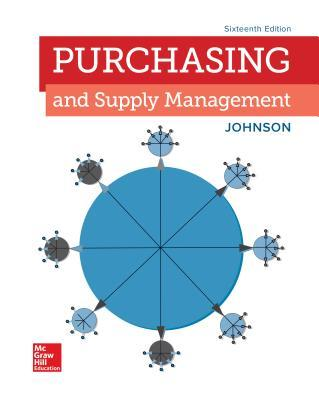 Loose Leaf for Purchasing and Supply Management