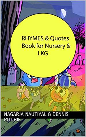 Rhymes and Quotes Book for Nursery and LKG