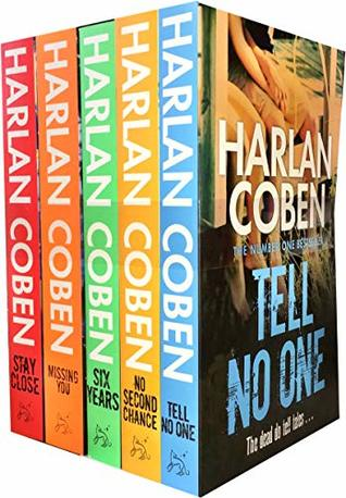 Harlan Coben Collection 5 Books Set (Stay Close, Missing You, Six Years, No Second Chance, Tell No One)