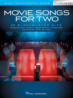 Movie Songs for Two Clarinets: Easy Instrumental Duets