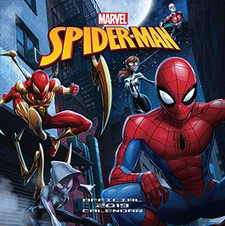 Spiderman Official 2019 Calendar - Square Wall Calendar Format