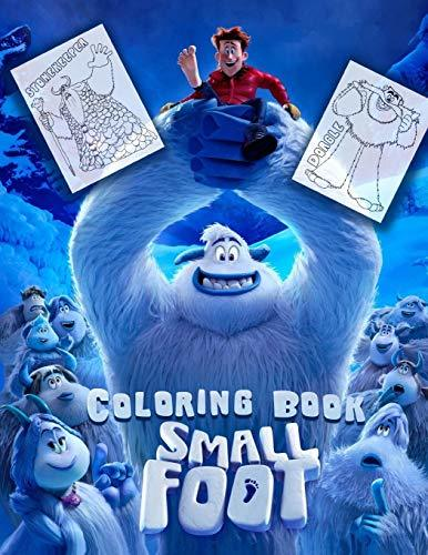 Smallfoot Coloring Book