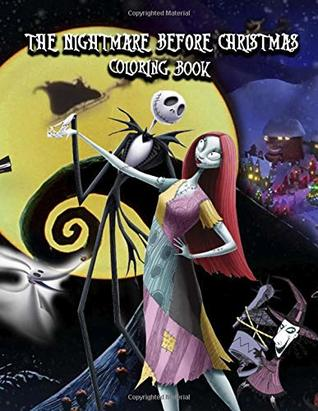 The Nightmare Before Christmas Coloring Book: This Amazing Coloring ...