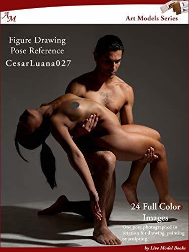 Art Models CesarLuana027: Figure Drawing Pose Reference