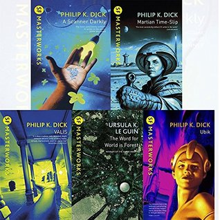 S.F. MASTERWORKS Philip K. Dick Collection 5 Books Set