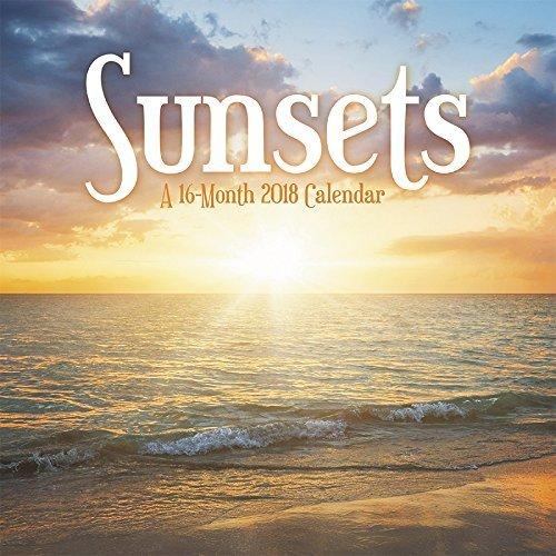 Sunsets 2018 Mini Calendar
