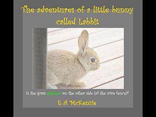 The adventures of a little bunny called Labbit: Is the grass greener on the other side (of the wire fence)?