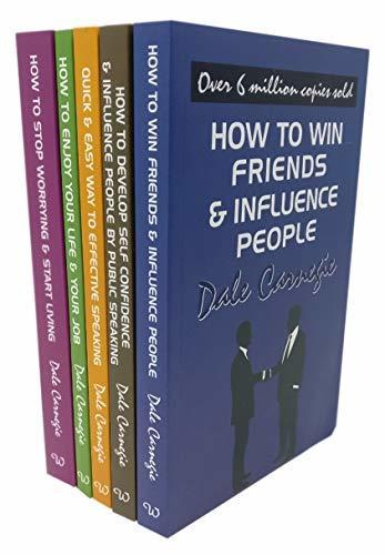 Dale Carnegie Personal Development 5 Books Collection Set