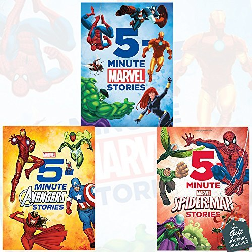 5-Minute Stories Collection 3 Books Bundle with Gift Journal
