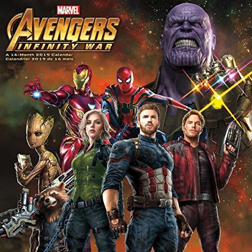 2019 Avengers: Infinity War Wall Calendar