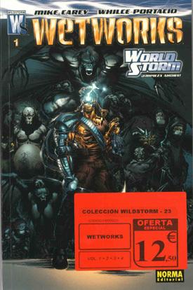 Colección Wildstorm: WetWorks, #1-4