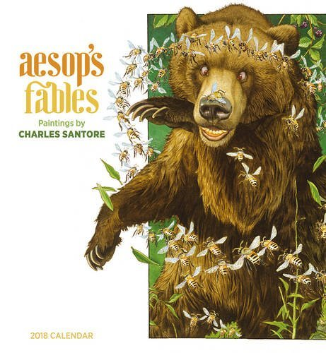 Charles Santore: Aesop's Fables 2018 Wall Calendar