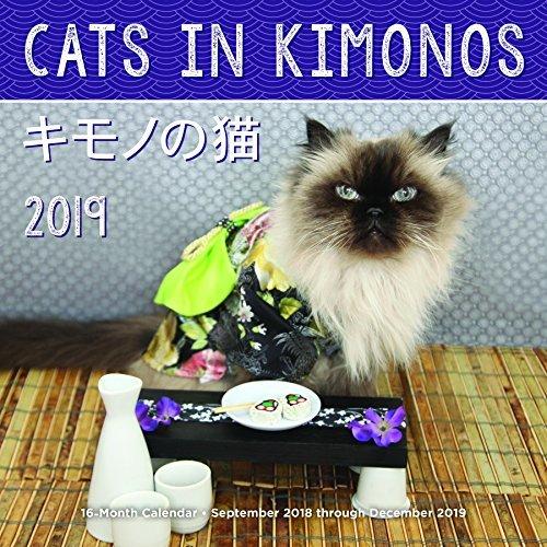 Cats In Kimonos 2019: 16-Month Calendar - September 2018 through December 2019