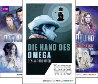 Doctor Who Romane (Reihe in 3 Bänden)