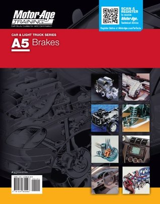 ASE DVD Study Guide A5 Brakes Certification by Motor Age Training