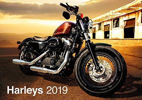Harley Davidson 2019 Calendar - Gifts - Accessories