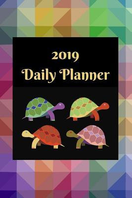 2019 Daily Planner: Turtles