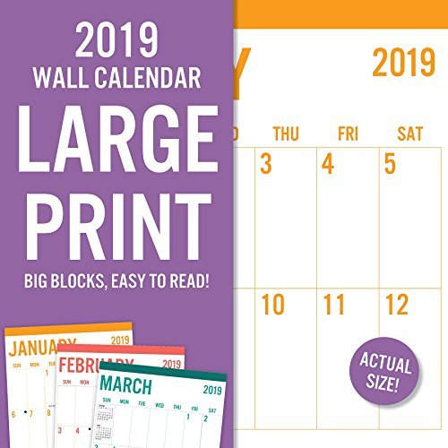 2019 Avalon 12 X 12 Large Print-basic Wall Calendar