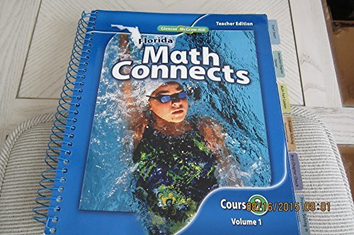Florida Math Connects Course 2 Volume 1