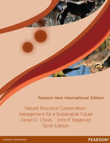 Natural Resource Conservation: Pearson New International Edition: Cases and Moral Reasoning