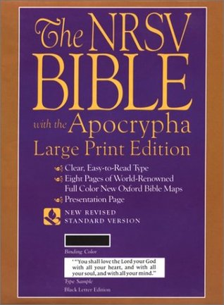 Holy Bible with the Apocrypha Large Print