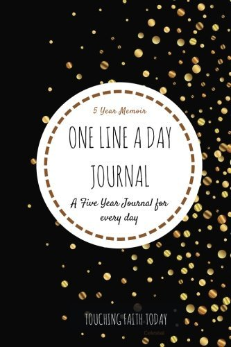 One Line A Day Five Year Journal: 5 Year diary, Memory Book, Memoir for Moms, 5 Year Memory Book, 6x9 inches - BONUS Password Keeper, Telephone ... (5 year Diary/5 year Memoir/Memory Book)