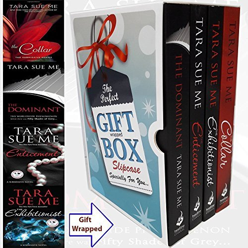 Tara Sue Me Submissive Series Collection 4 Books Bundle Gift Wrapped Slipcase Specially For You