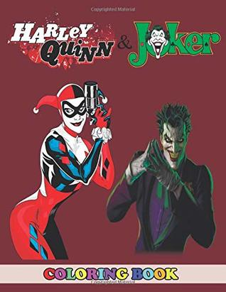 Harley Quinn And Joker Coloring Book 2 In 1 Coloring Book For Kids