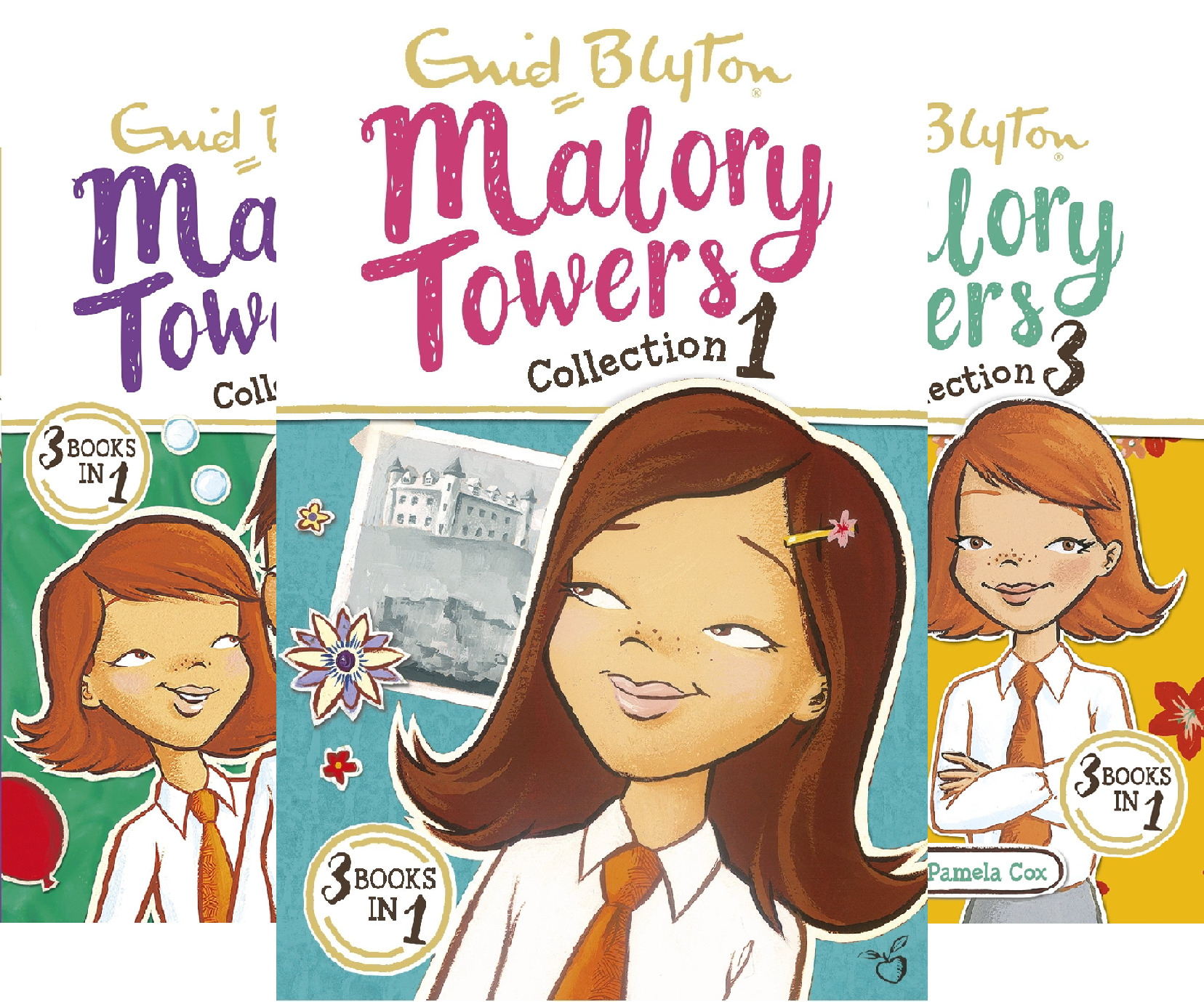 Malory Towers Boxset (4 Book Series)