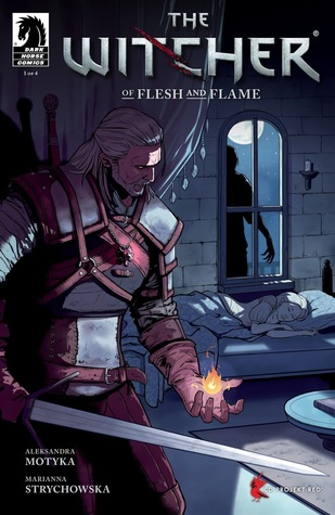 The Witcher: Of Flesh and Flame #1