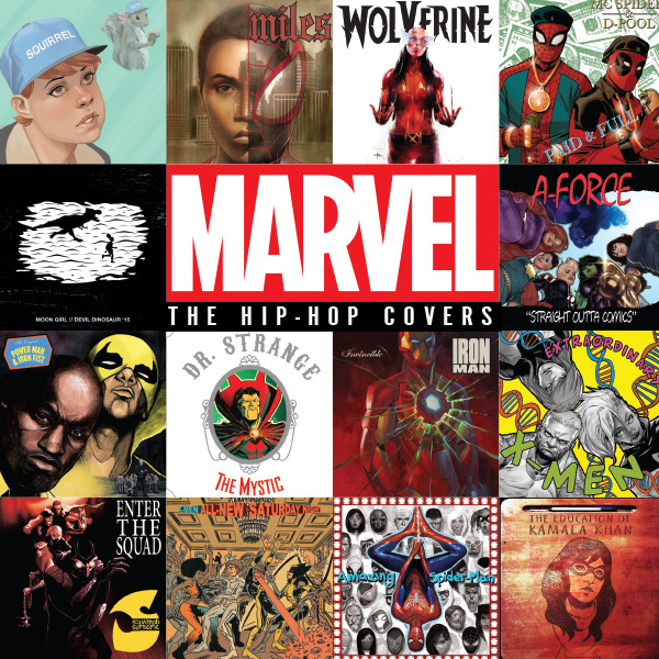 Marvel: The Hip-Hop Covers (Issues) (2 Book Series)