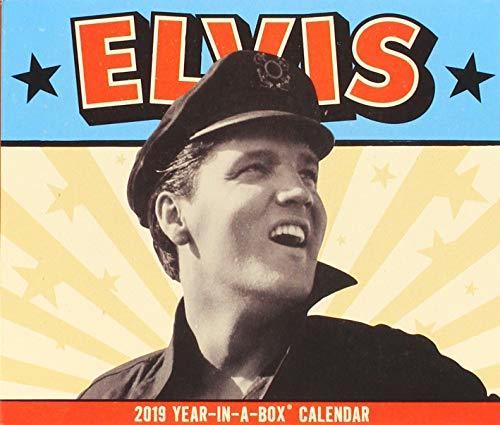 Elvis 2019 Calendar: Year in a Box