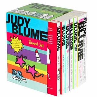 Judy Blume Boxed Set: Are You There God? It's Me, Margaret; Blubber; Deenie; Iggie's House; It's Not the End of the World; Then Again, Maybe I Won't; Starring Sally J. Freedman as Herself; Freckle Jui