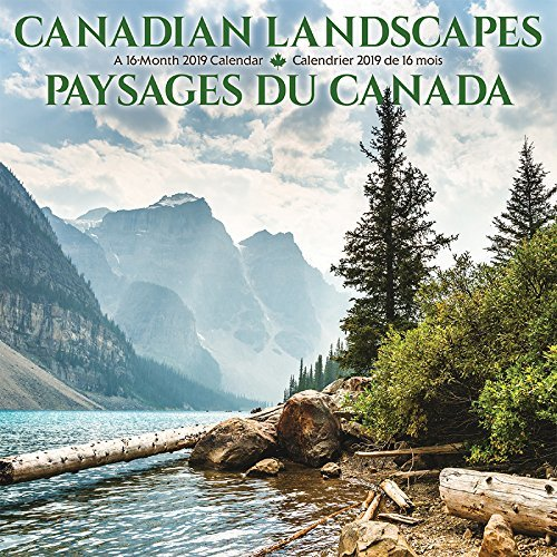 2019 Canadian Landscapes/Paysages du Canada Mini Calendar