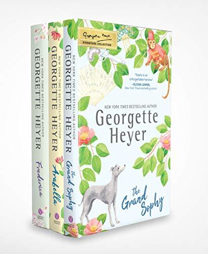 Georgette Heyer Signature Collection 3 Book Set