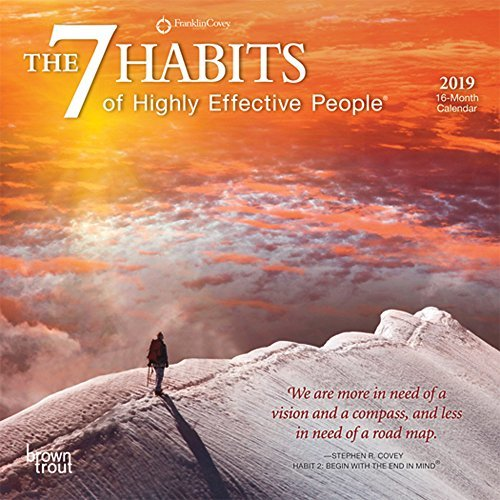 The 7 Habits of Highly Effective People 2019 Calendar