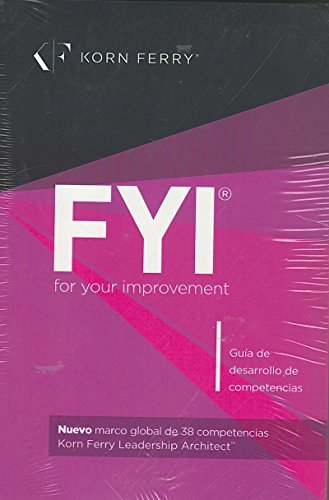 FYI for your improvement Spanish Text [Texto en español] 6TH EDITION