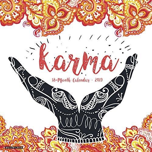Karma 2019 Wall Calendar